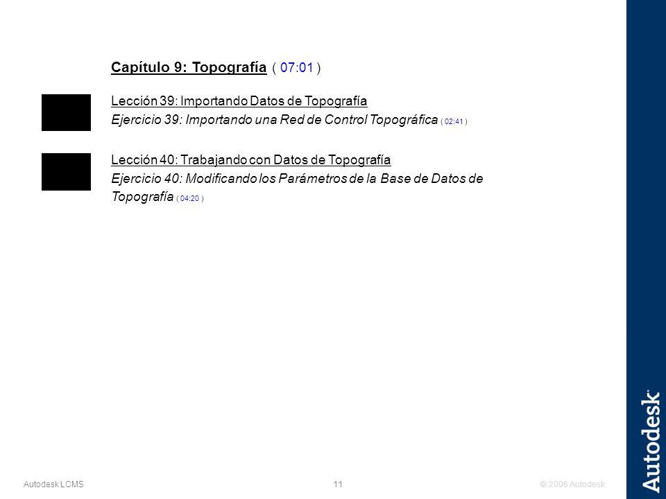 Capítulo 9: Topografía ( 07:01 )