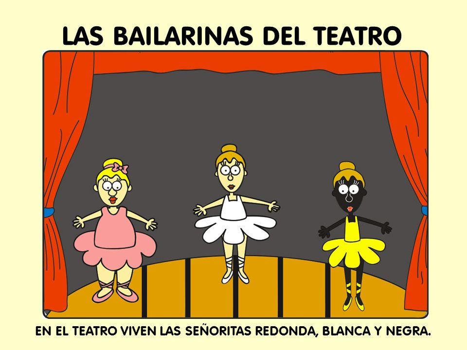 LAS BAILARINAS DEL TEATRO