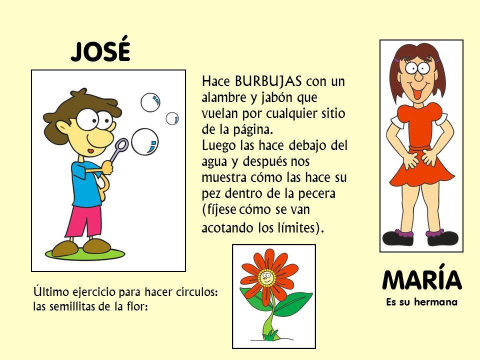 JOSÉ MARÍA Es su hermana