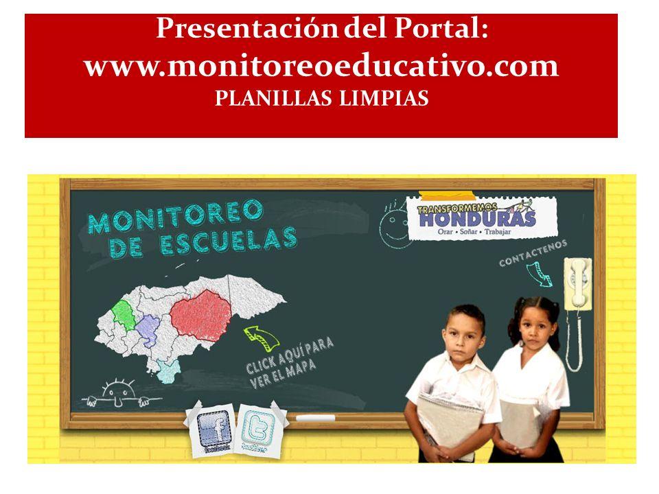 Presentación del Portal: