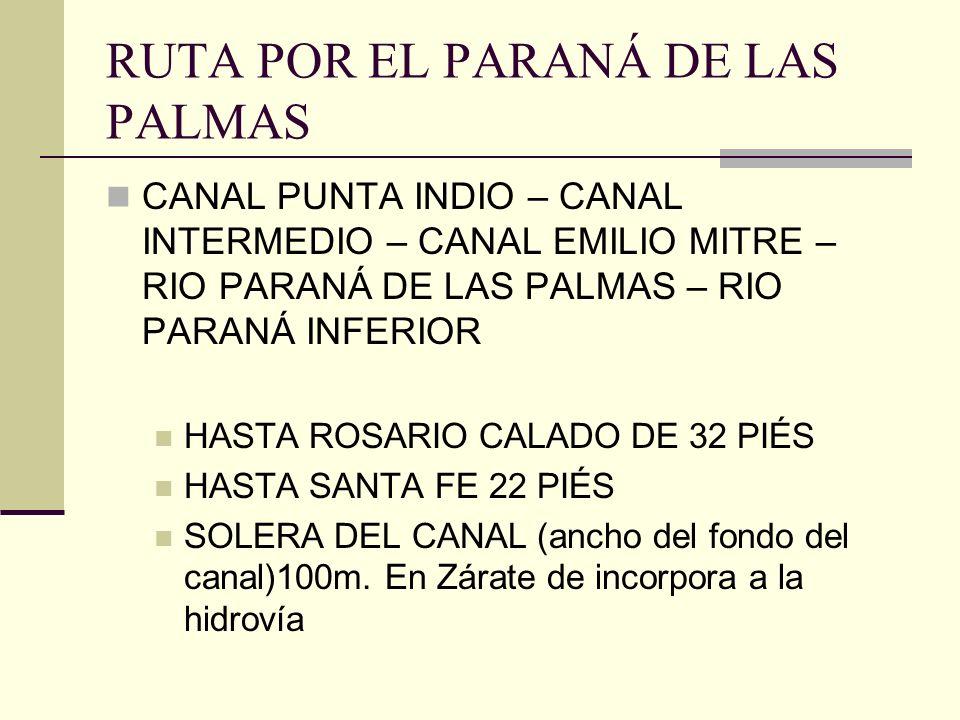 RUTA POR EL PARANÁ DE LAS PALMAS