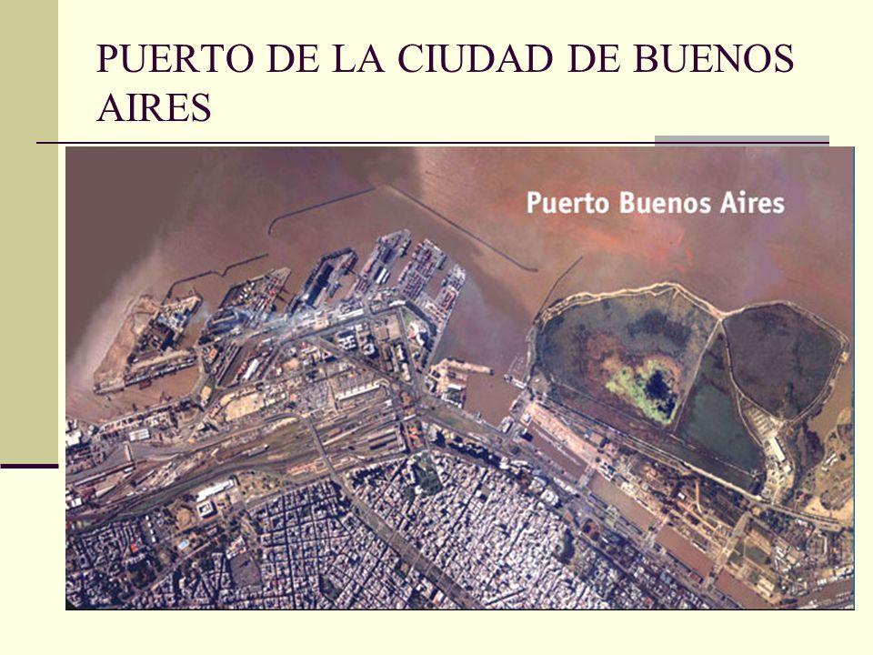 PUERTO DE LA CIUDAD DE BUENOS AIRES
