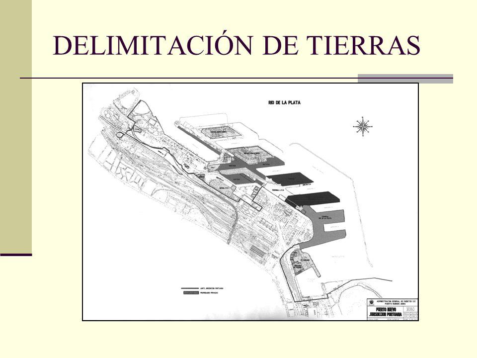DELIMITACIÓN DE TIERRAS