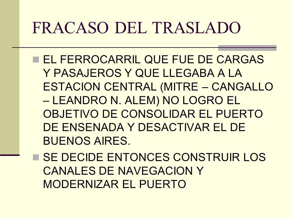 FRACASO DEL TRASLADO