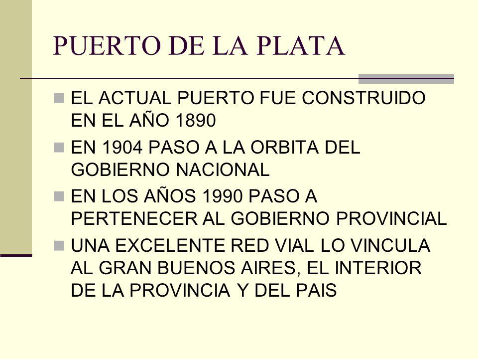 PUERTO DE LA PLATA EL ACTUAL PUERTO FUE CONSTRUIDO EN EL AÑO 1890