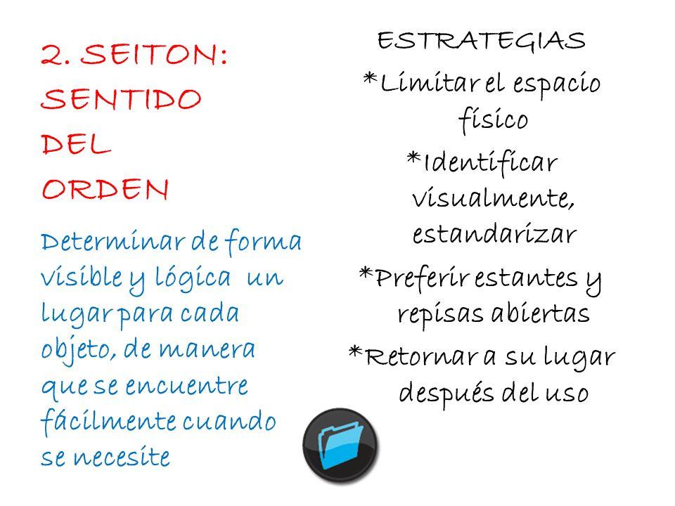 2. SEITON: SENTIDO DEL ORDEN