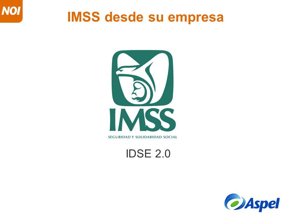 IMSS desde su empresa IDSE 2.0