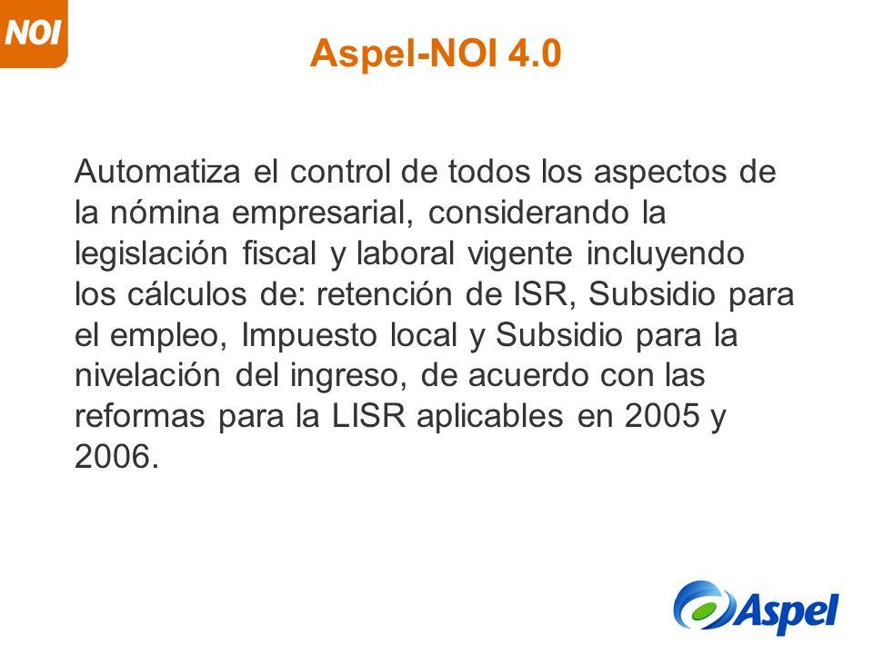 Aspel-NOI 4.0