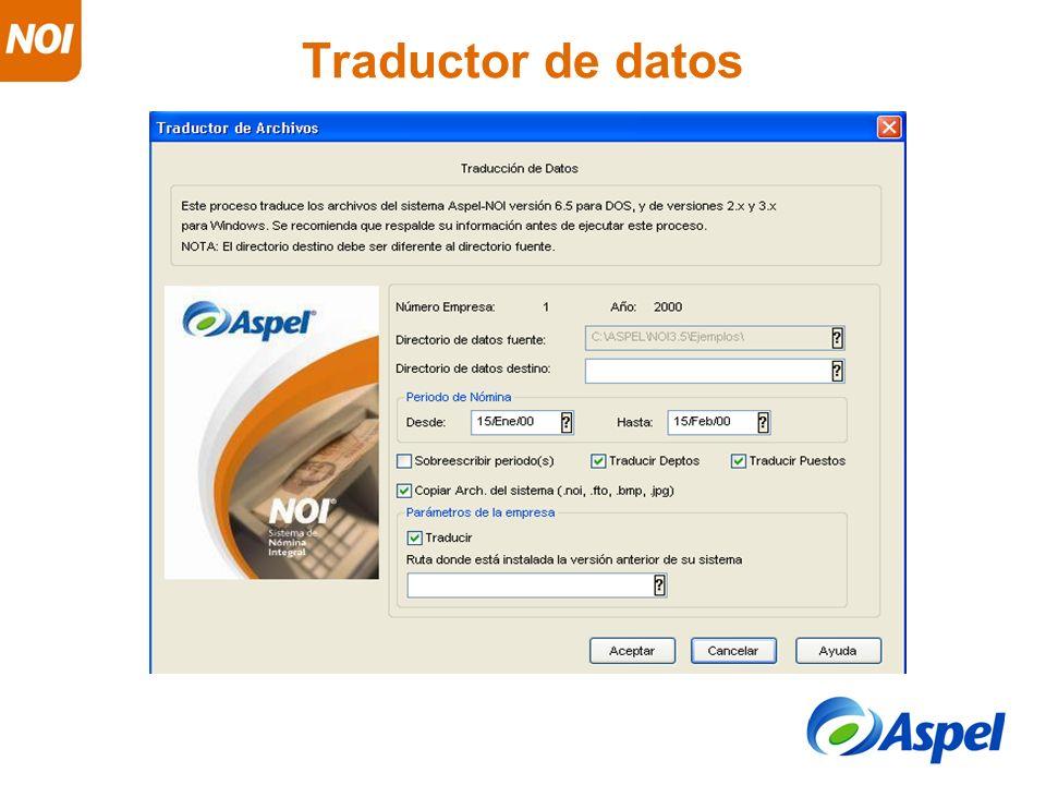 Traductor de datos