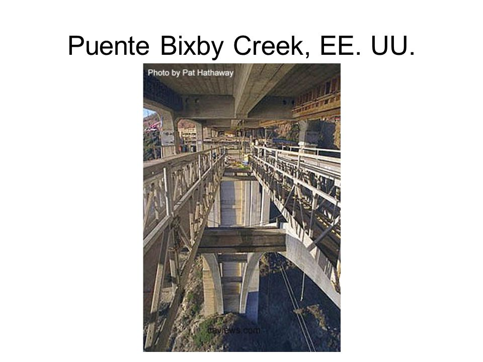 Puente Bixby Creek, EE. UU.