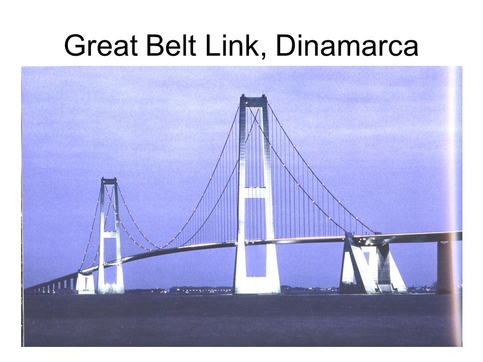 Great Belt Link, Dinamarca