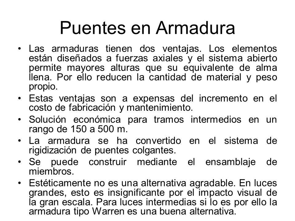 Puentes en Armadura