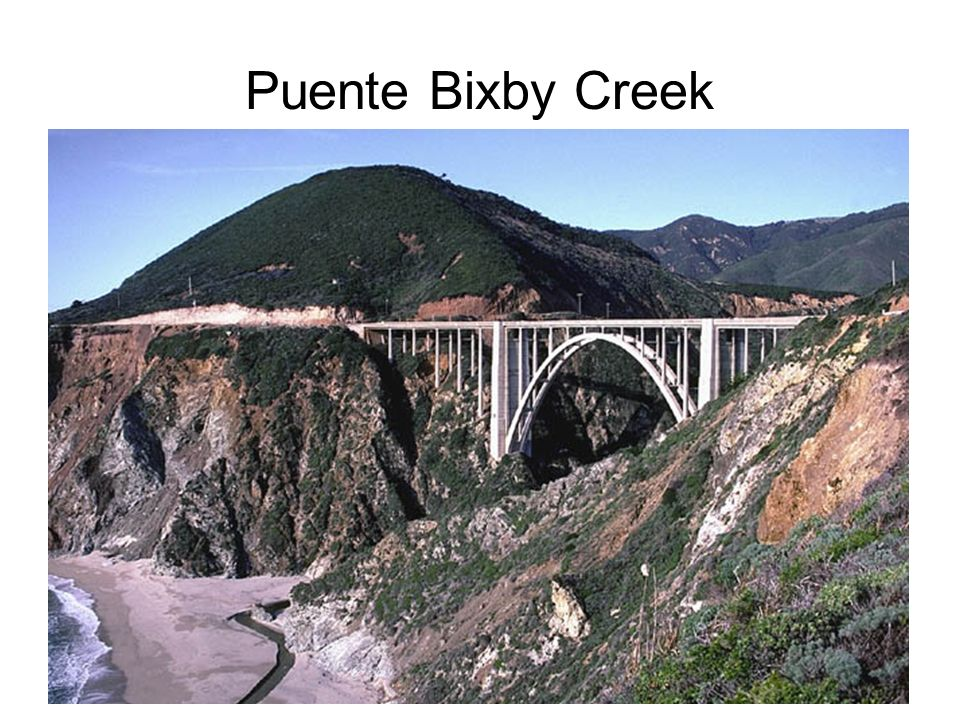 Puente Bixby Creek