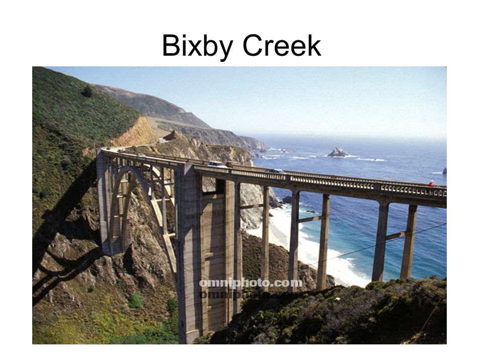 Bixby Creek