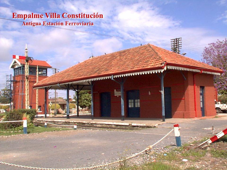 Empalme Villa Constitución Antigua Estación Ferroviaria
