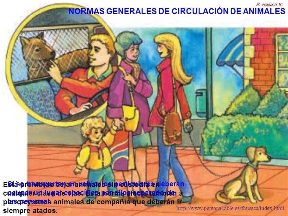 NORMAS GENERALES DE CIRCULACIÓN DE ANIMALES