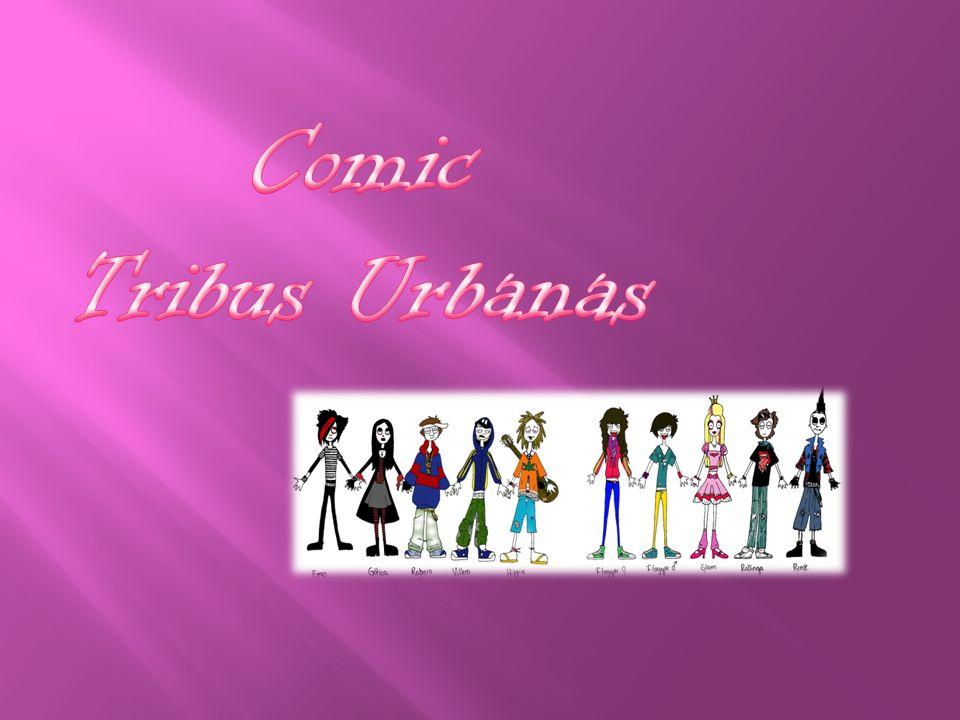 Comic Tribus Urbanas