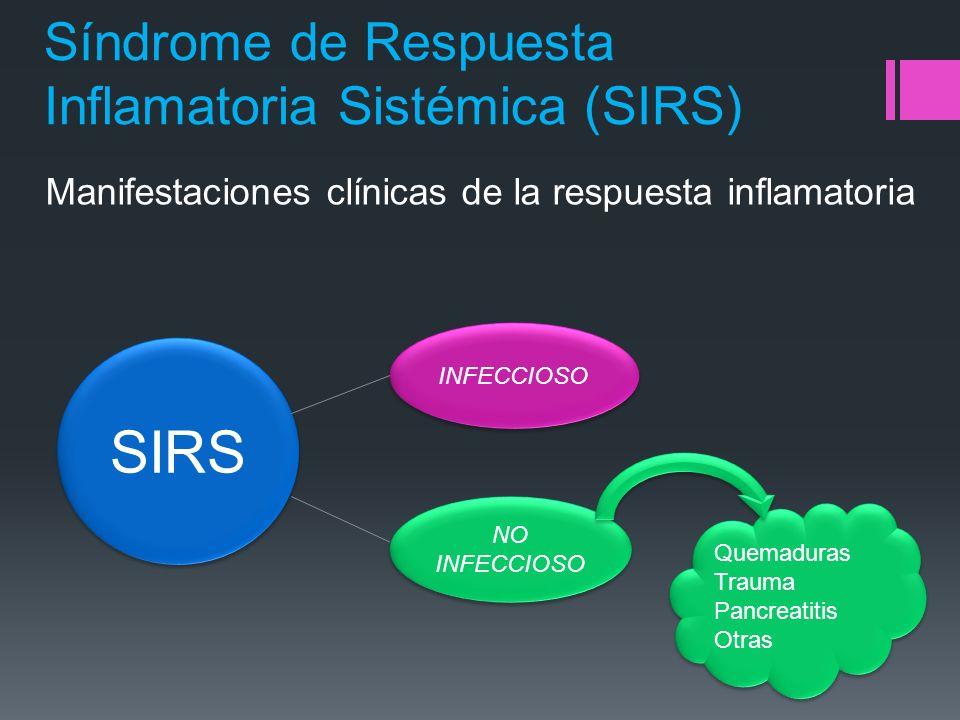 Síndrome de Respuesta Inflamatoria Sistémica (SIRS)