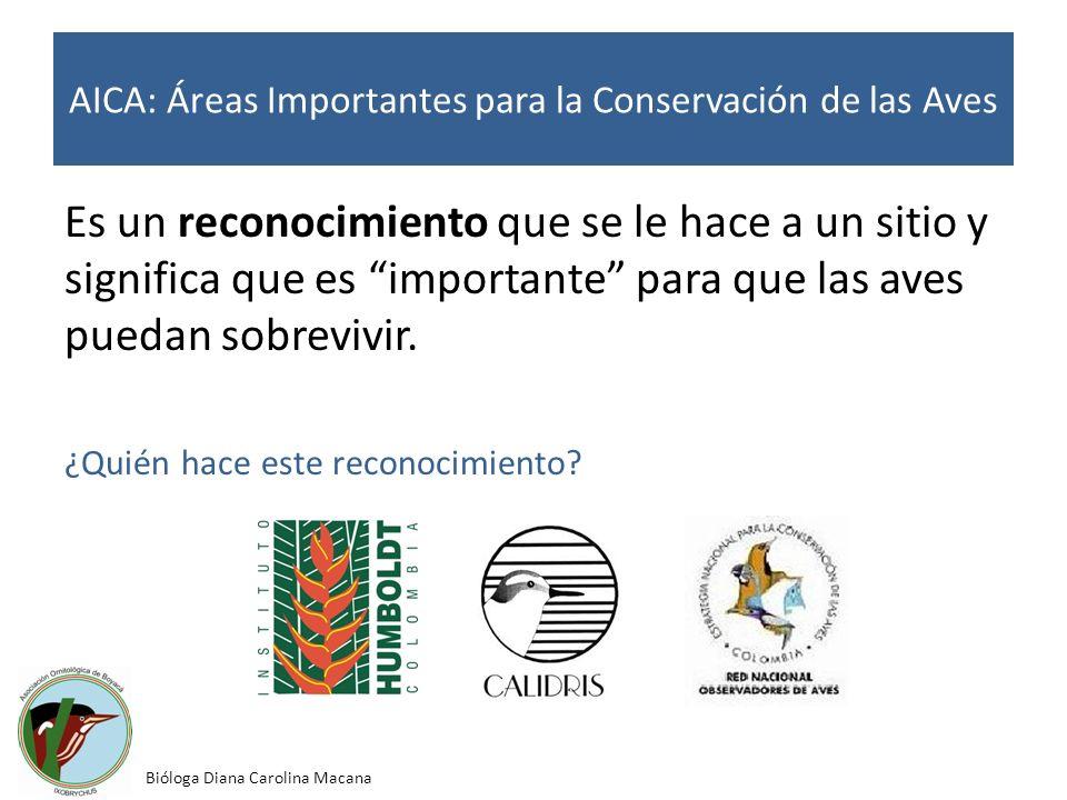 AICA: Áreas Importantes para la Conservación de las Aves