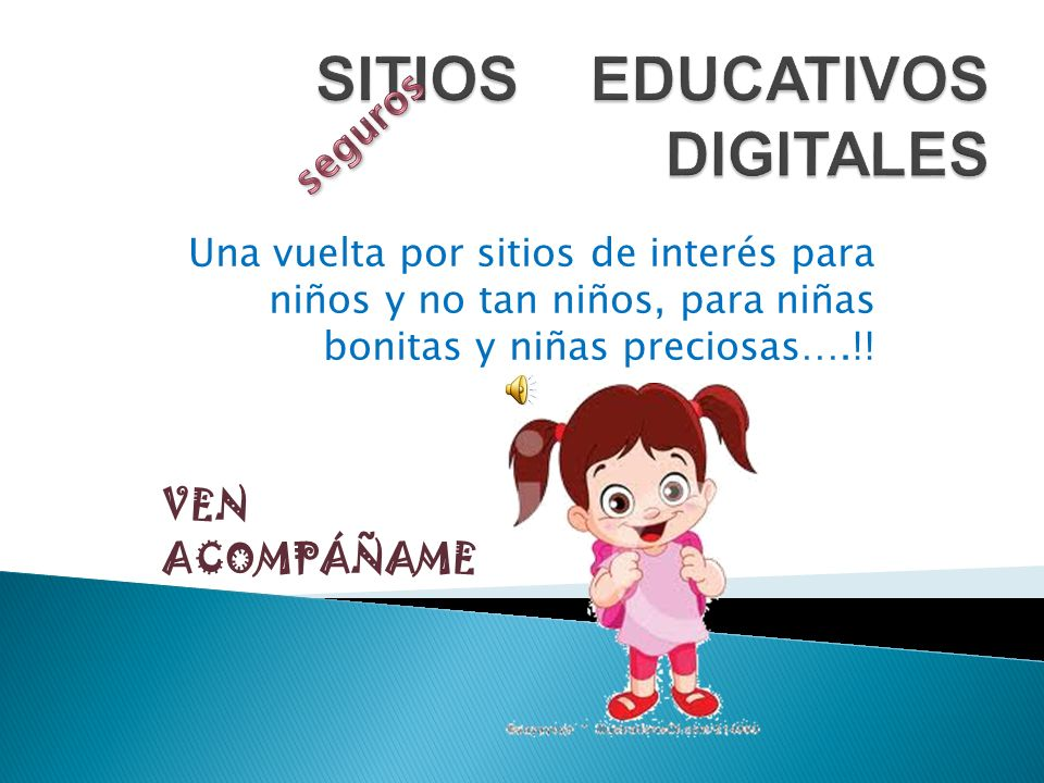 SITIOS EDUCATIVOS DIGITALES