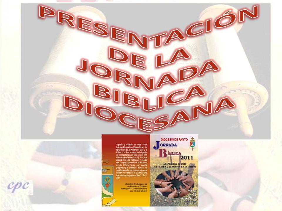 PRESENTACIÓN DE LA JORNADA BIBLICA DIOCESANA