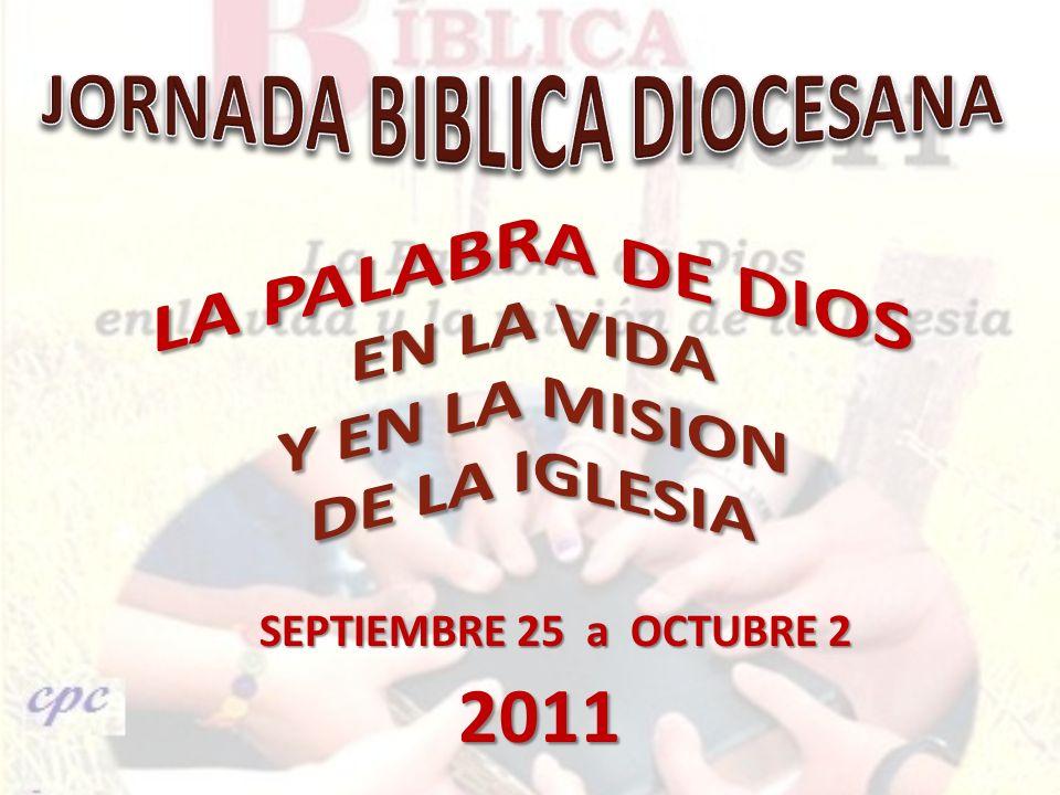 JORNADA BIBLICA DIOCESANA