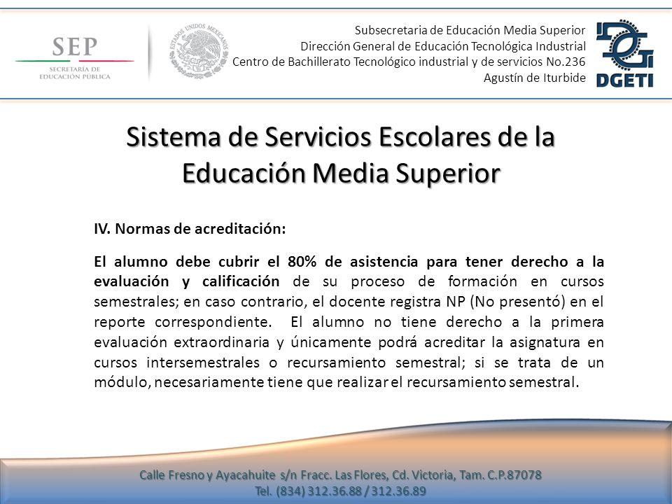 Sistema de Servicios Escolares de la Educación Media Superior