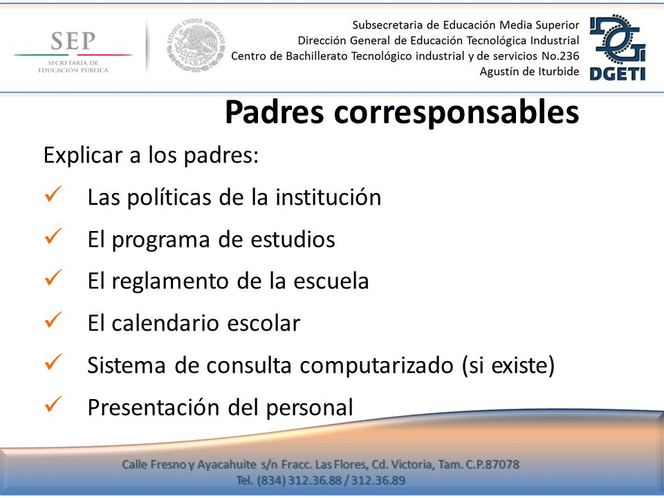 Padres corresponsables