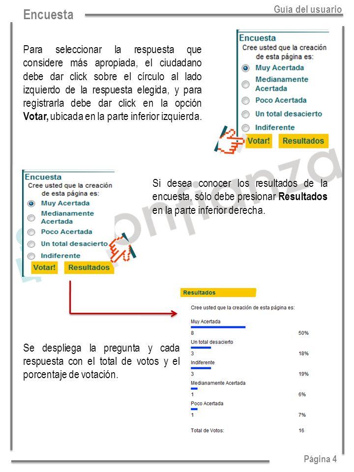 Página 4 Guía del usuario.