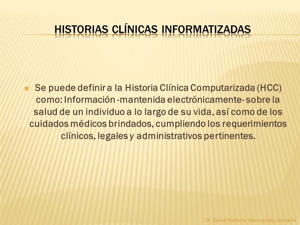 Historias Clínicas Informatizadas