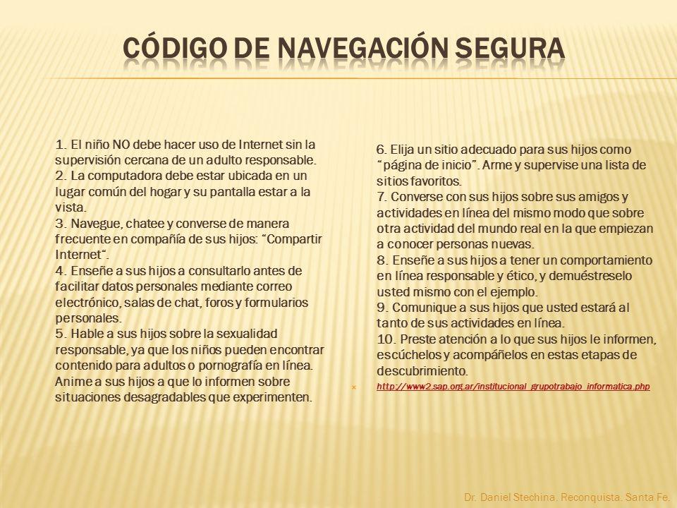 CÓDIGO DE NAVEGACIÓN SEGURA