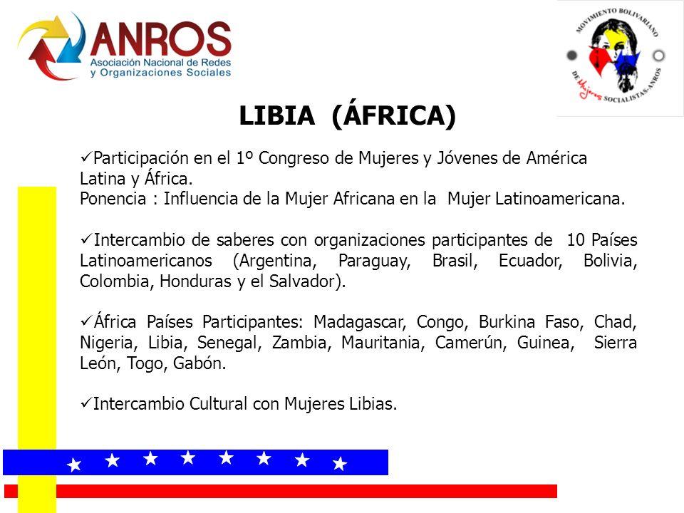 LIBIA (ÁFRICA) « « « « « « « «