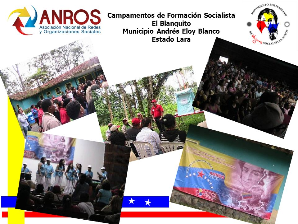 Campamentos de Formación Socialista Municipio Andrés Eloy Blanco
