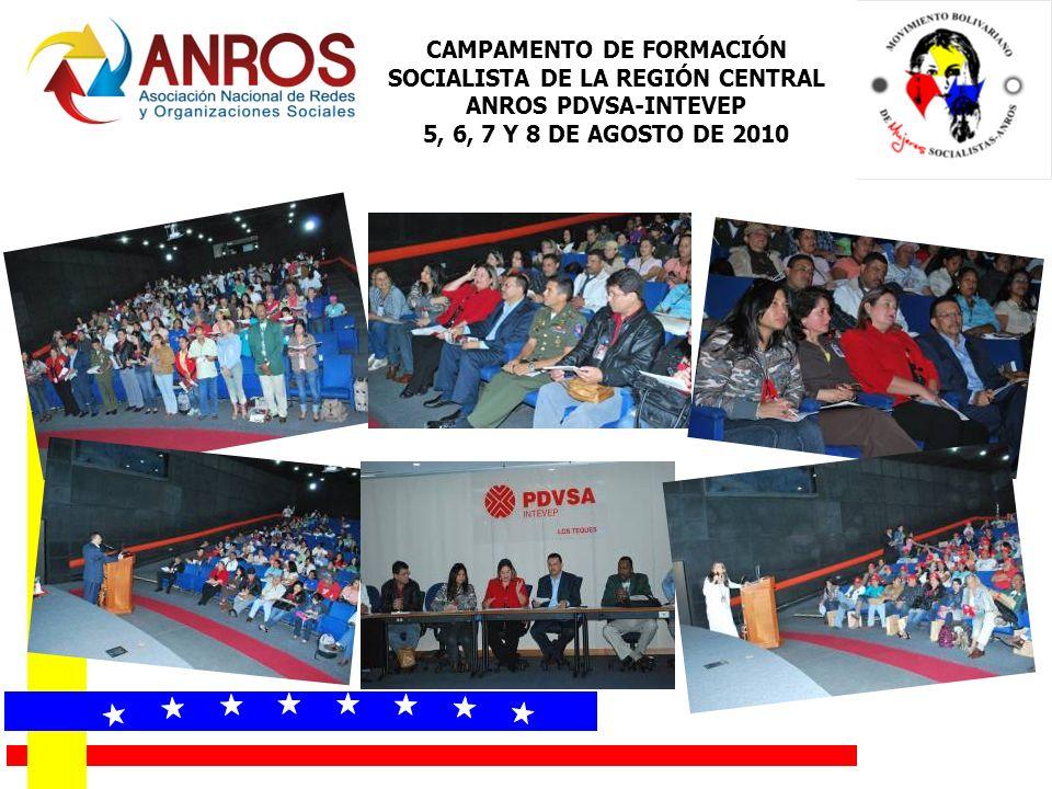 CAMPAMENTO DE FORMACIÓN SOCIALISTA DE LA REGIÓN CENTRAL