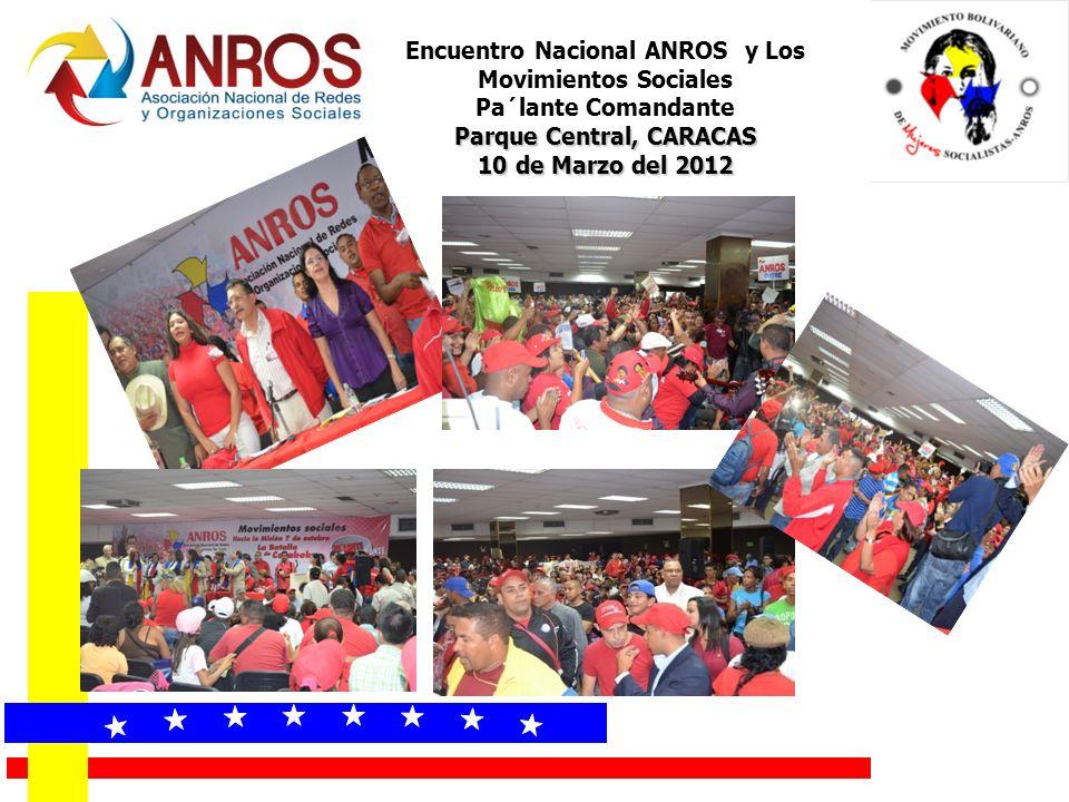 « « « « « « « « Encuentro Nacional ANROS y Los Movimientos Sociales