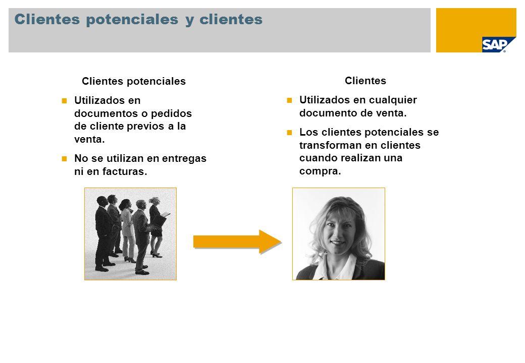 Clientes potenciales y clientes