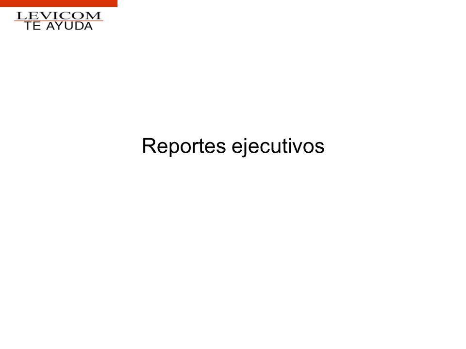 Reportes ejecutivos