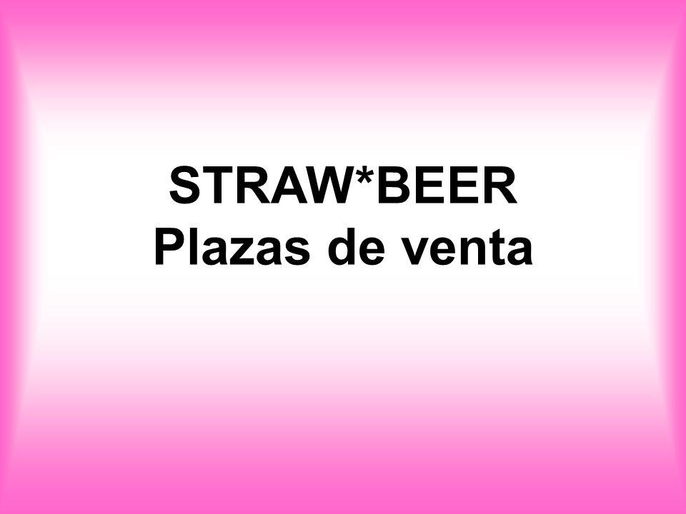 STRAW*BEER Plazas de venta