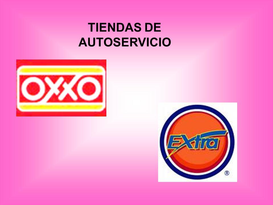 TIENDAS DE AUTOSERVICIO