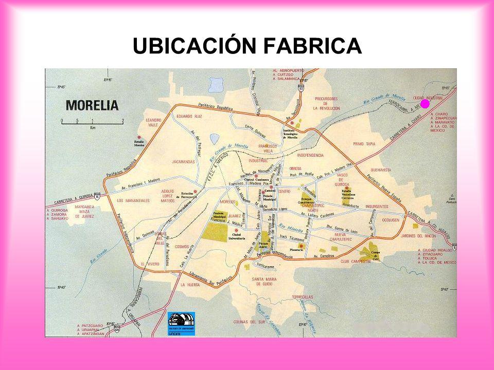 UBICACIÓN FABRICA