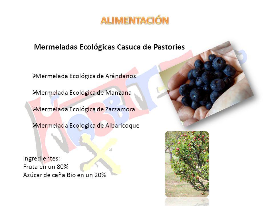 ALIMENTACIÓN Mermeladas Ecológicas Casuca de Pastories