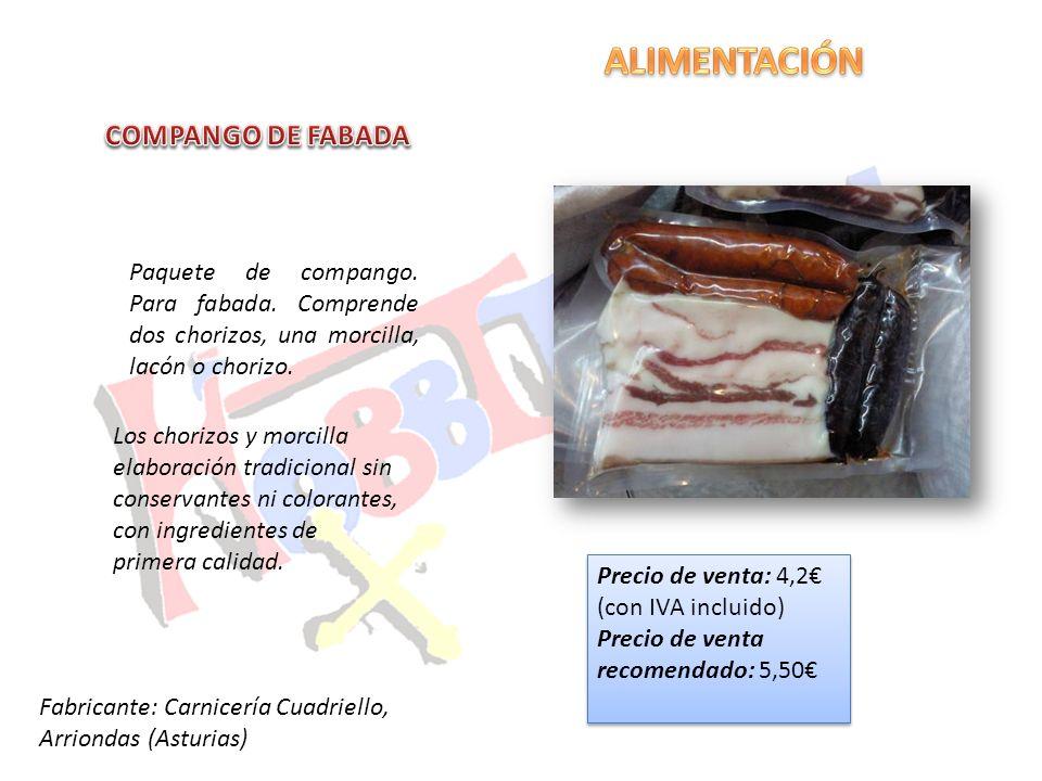 ALIMENTACIÓN COMPANGO DE FABADA