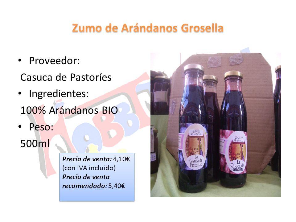 Zumo de Arándanos Grosella
