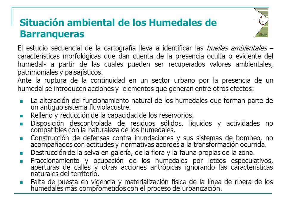 Situación ambiental de los Humedales de Barranqueras