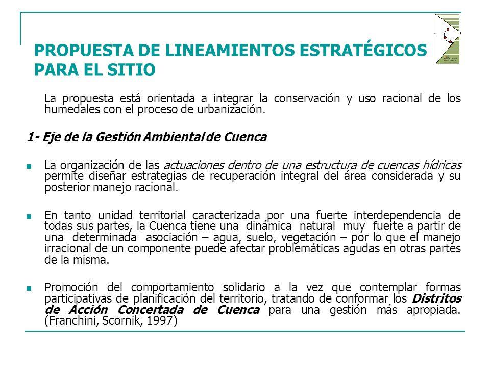 PROPUESTA DE LINEAMIENTOS ESTRATÉGICOS PARA EL SITIO