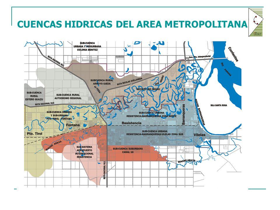 CUENCAS HIDRICAS DEL AREA METROPOLITANA