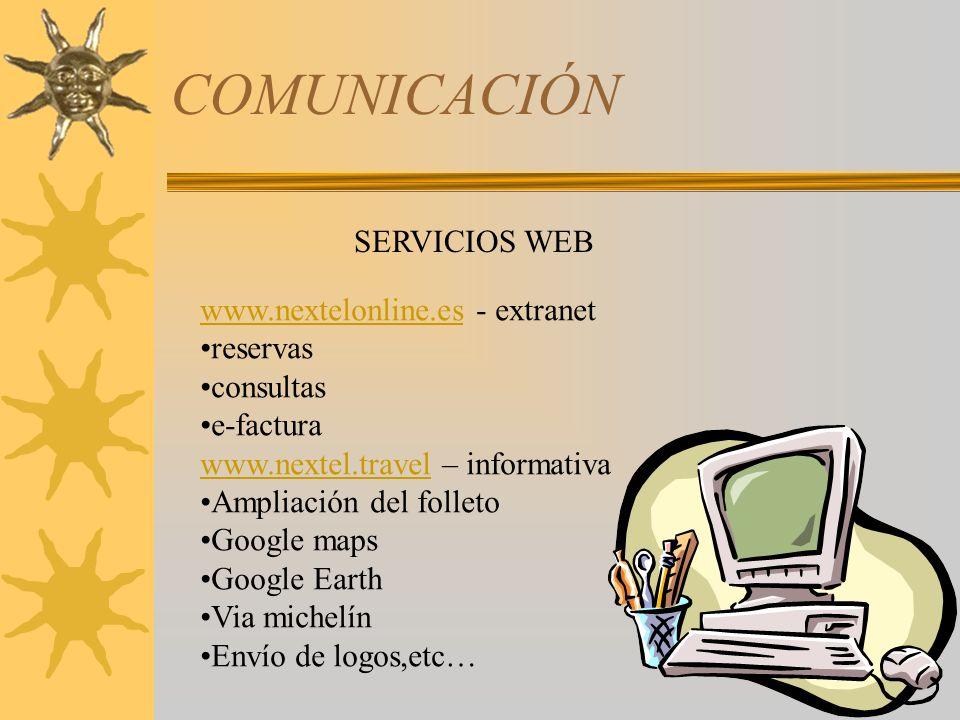COMUNICACIÓN SERVICIOS WEB