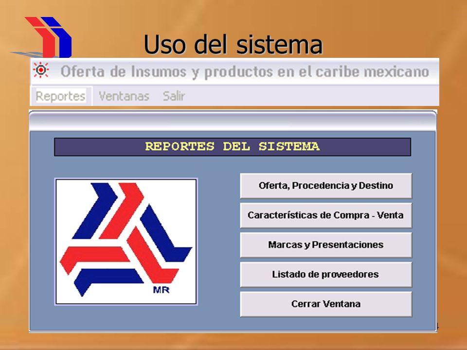 Uso del sistema Mayo 2004 IIT