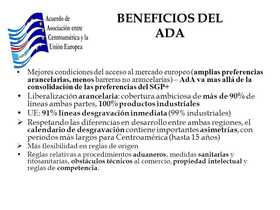 BENEFICIOS DEL ADA