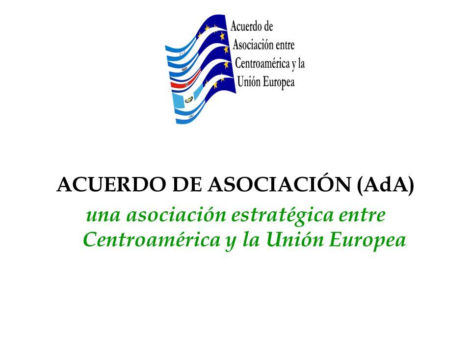 una asociación estratégica entre Centroamérica y la Unión Europea